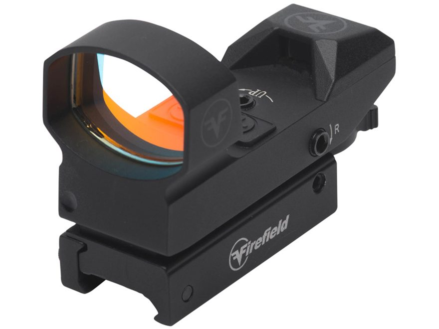 Firefield Impact Reflex Red Dot Sight 1x 4 Pattern (Dot, Cross, Cross-Circle, Circle-Do...