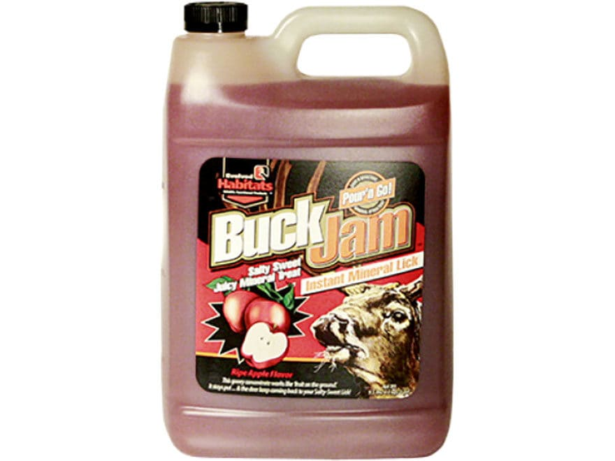Evolved Habitats Buck Jam Deer Attractant Liquid 1 Gallon