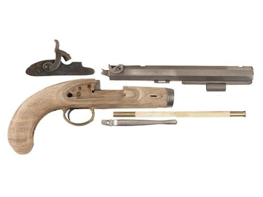 "Lyman Plains Muzzleloading Pistol Unassembled Kit Percussion 9-3/4"" Blue Barrel"