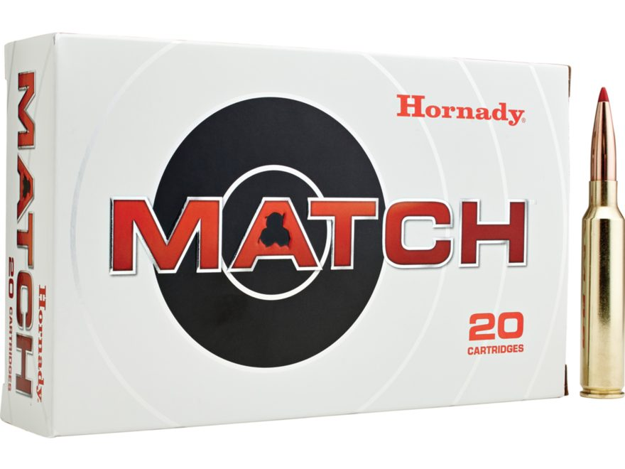 Hornady Match Ammunition 300 PRC 225 Grain ELD Match Box of 20