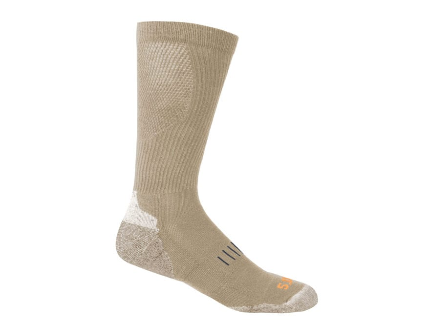 5.11 Men's Year Round Over the Calf Socks Cotton 1 Pair