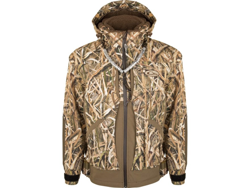 Drake Men's Guardian Elite Layout Blind Waterproof Insulated Jacket Polyester