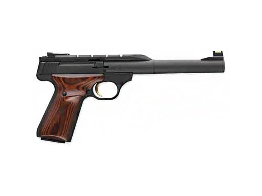 """Browning Buck Mark Hunter Pistol 22 Long Rifle 7.25"""" Barrel 10-Round Black and Cocobolo..."""