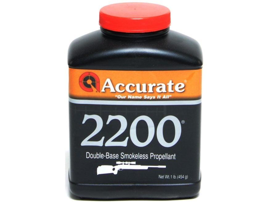 Accurate 2200 Smokeless Gun Powder