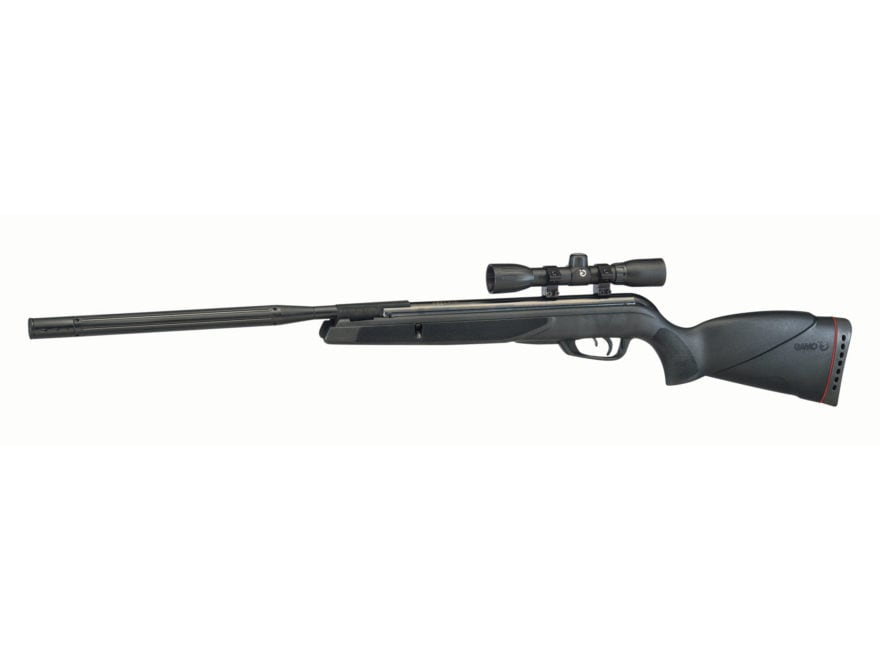 Gamo Wildcat Whisper Break Barrel Air Rifle Pellet Black Synthetic Stock Matte Barrel w...