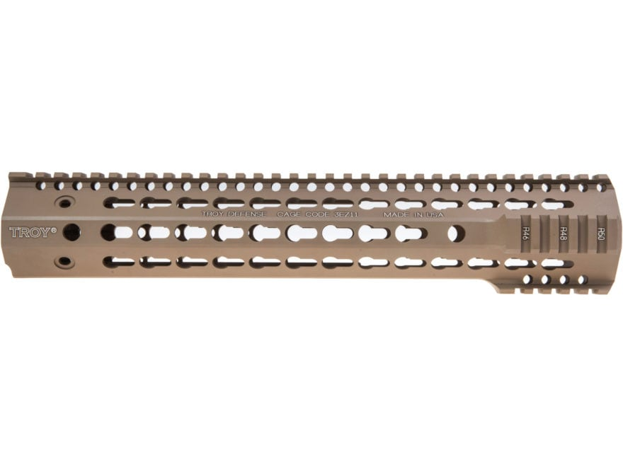 Troy Industries SDMR Battle Rail Free Float KeyMod Handguard LR-308