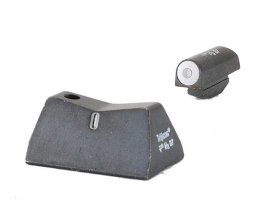 XS DXT Night Sight Set Ruger P90, P93, P94, P97 Steel Matte Tritium Big Dot