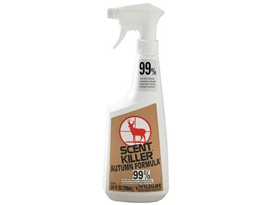 Wildlife Research Center Scent Killer Scent Elimination Spray Autumn Formula Liquid 24 oz