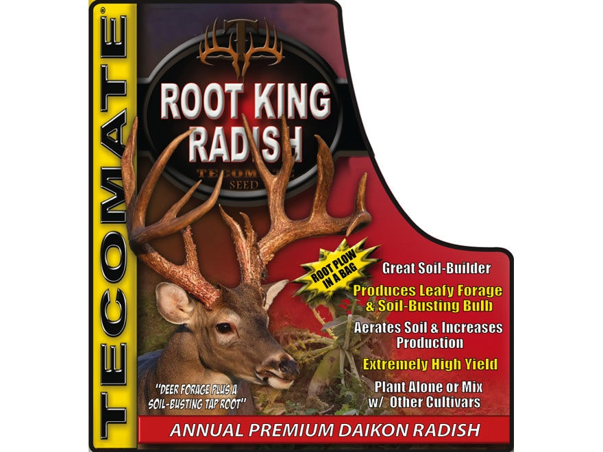 Tecomate Root King Radish Annual Food Plot Seed 3.25 lb