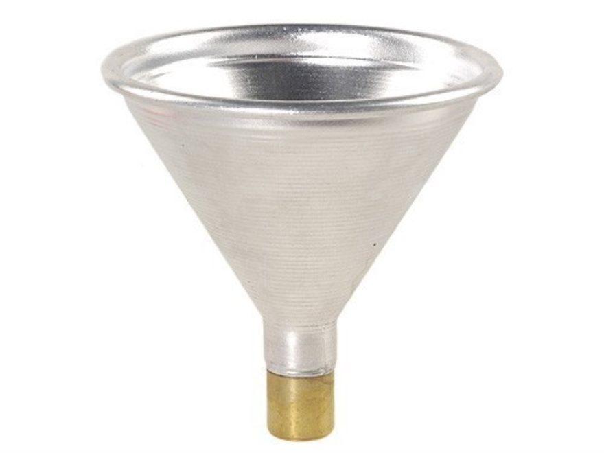 Satern Powder Funnel 323 Caliber, 8mm Aluminum and Brass