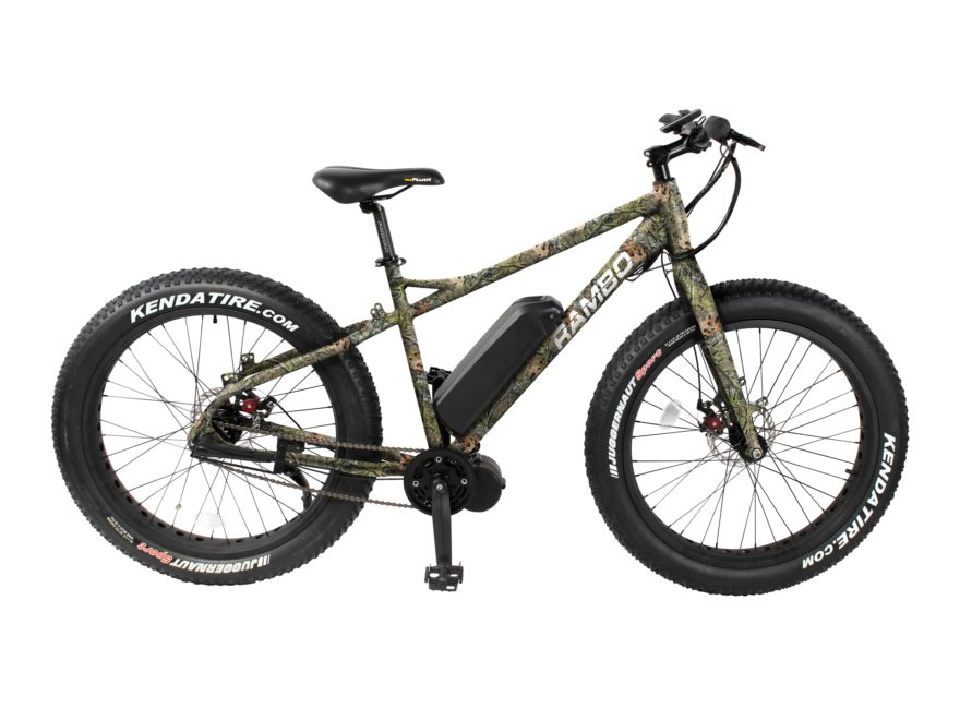 Rambo Bikes 750W Mossy Oak Camo Edition Electric Bike Mossy Oak Obsession