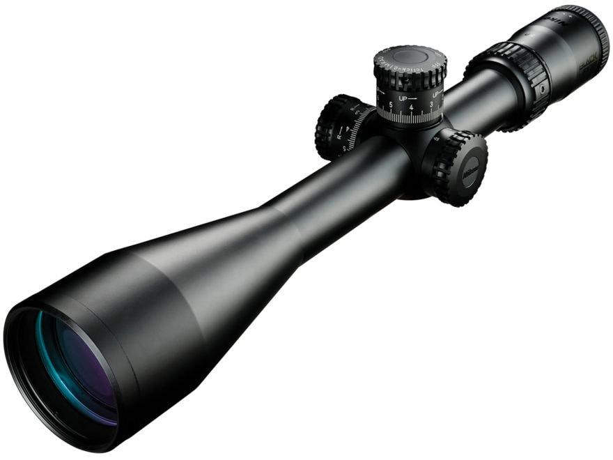 Nikon BLACK FX1000 Rifle Scope 30mm Tube 4-16x 50mm Side Focus First Focal FX-MRAD Reti...