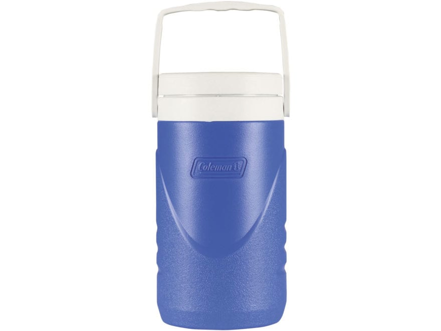 Coleman Beverage Cooler 1/2 Gallon Plastic Blue
