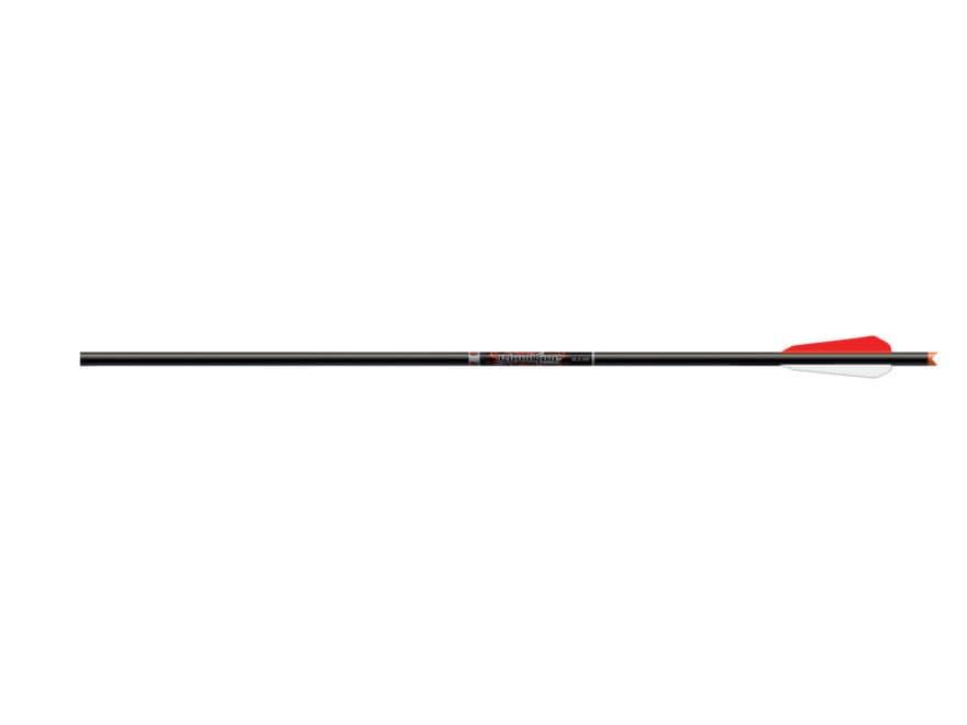 """Easton Bloodline Carbon Crossbow Bolt 3"""" BTV Vanes Black Pack of 6"""