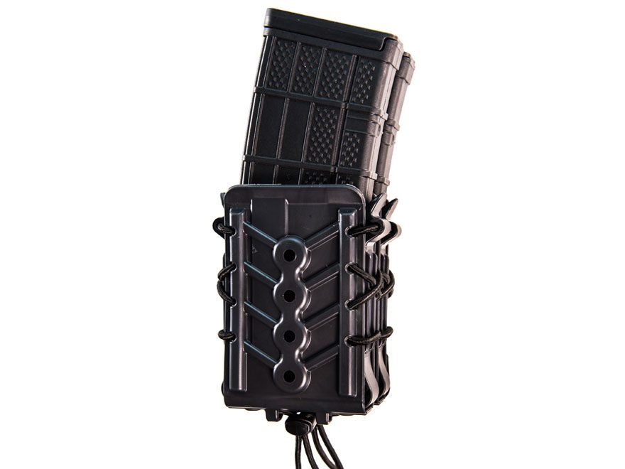 High Speed Gear Polymer X2R Taco MOLLE Double Rifle Magazine Pouch Polymer