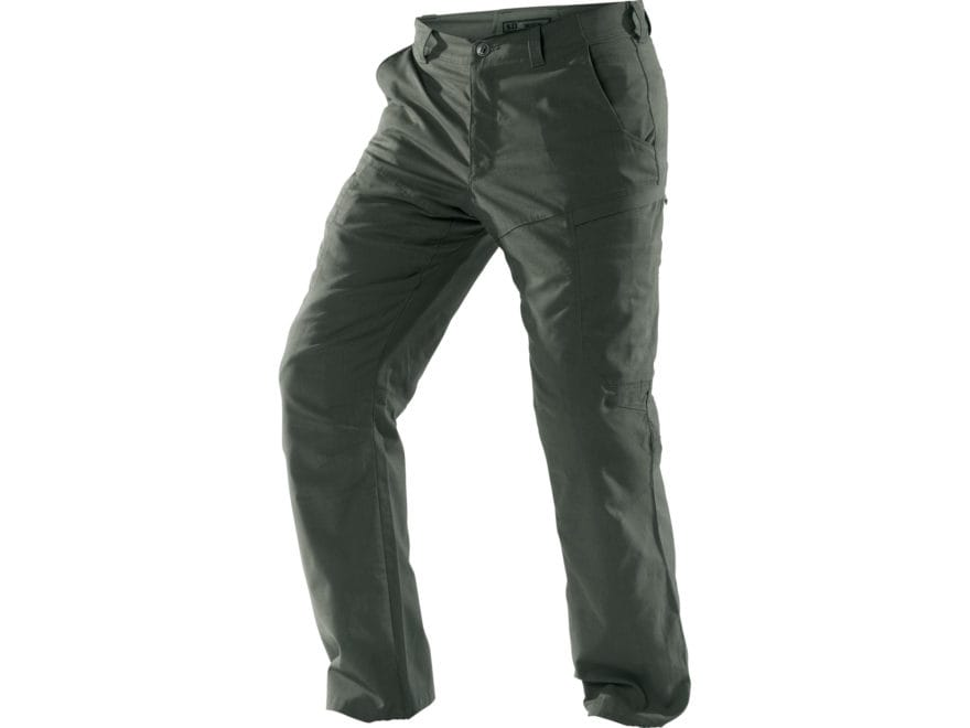 5.11 Men's Apex Tactical Pants with Flex-Tac Ripstop Polyester and Cotton Blend
