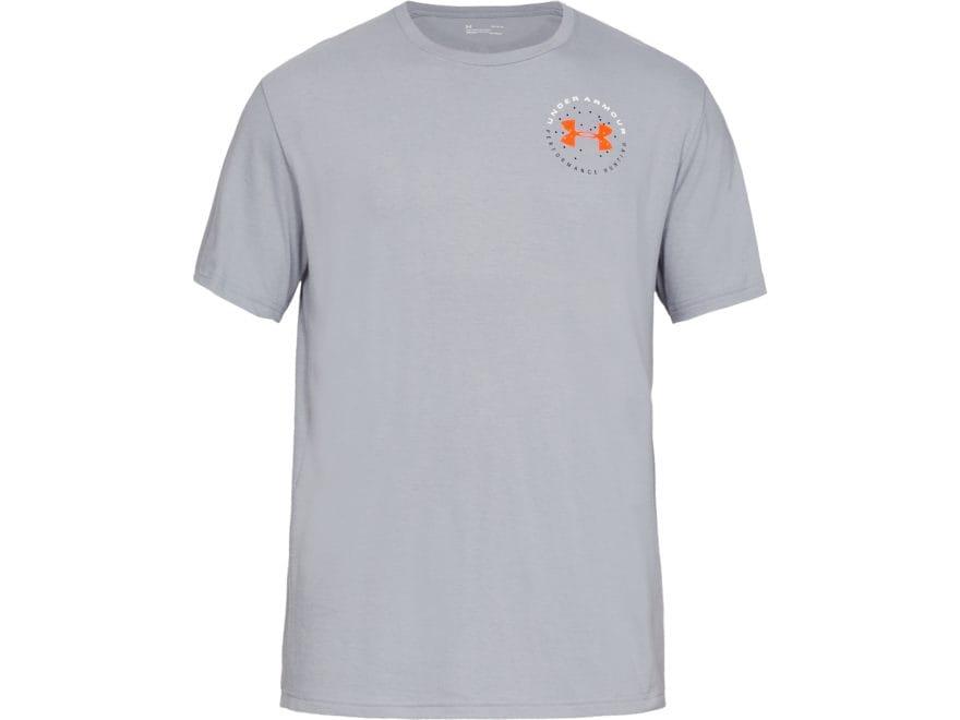 Under Armour Men's UA Turkey Shot T-Shirt Short Sleeve Charged Cotton