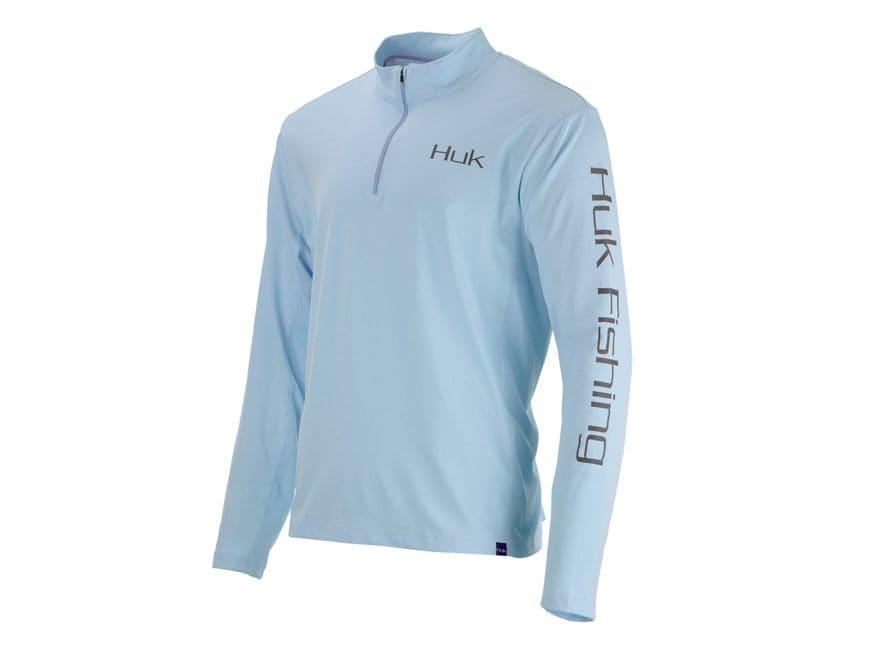 Huk Men's Icon X Performance 1/4 Zip Shirt Long Sleeve Polyester/Spandex