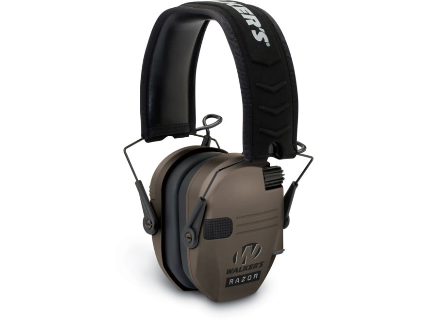 Walker's Razor Slim Low Profile Electronic Earmuffs (NRR 23dB)