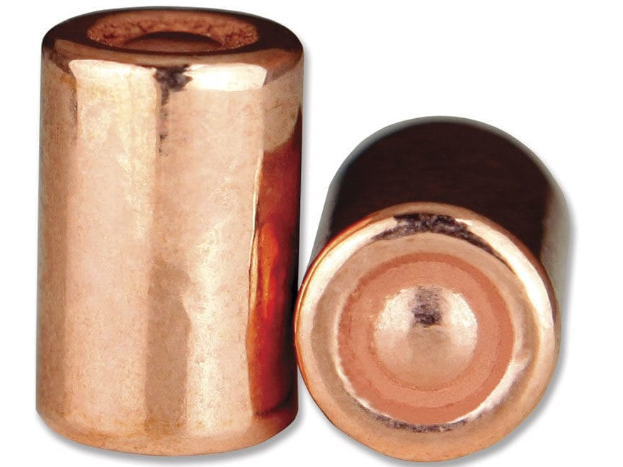 Berry's Superior Plated Bullets 38 Caliber (357 Diameter) 148 Grain Plated Double Ended...
