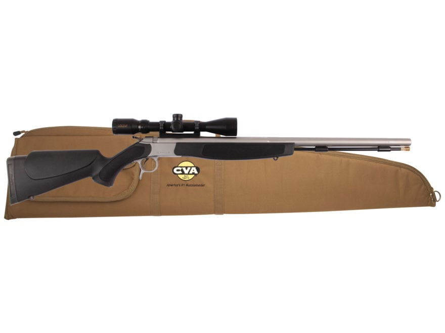 CVA Optima V2 Muzzleloading Rifle with KonusPro 3-9 x 40mm Scope and Case