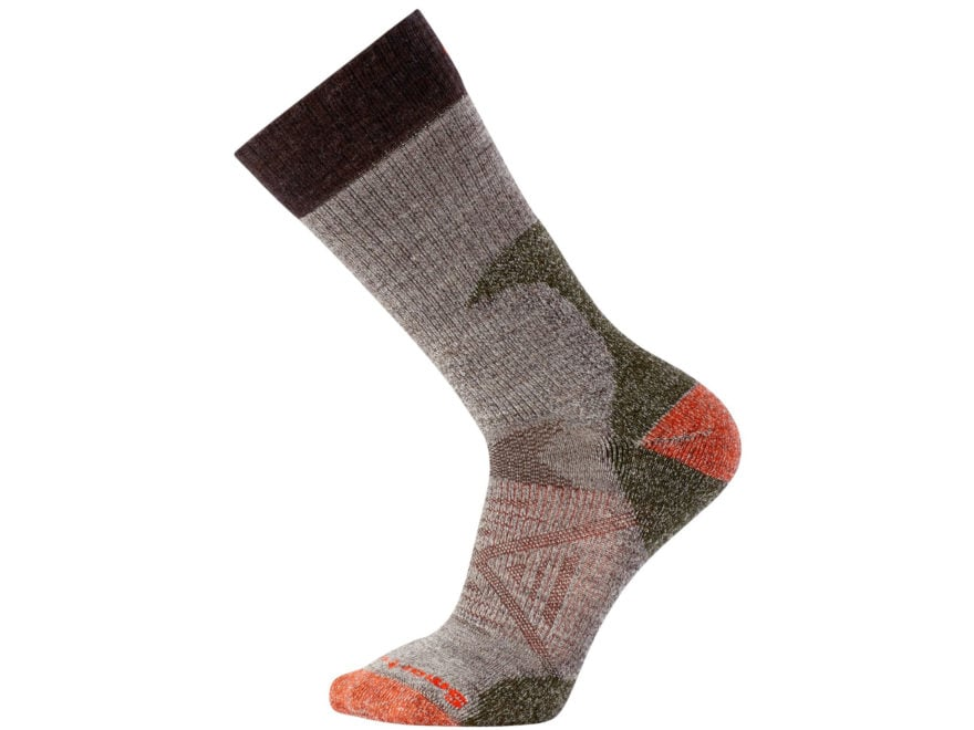 Smartwool Men's PhD Hunt Light Crew Socks Merino Wool/Nylon