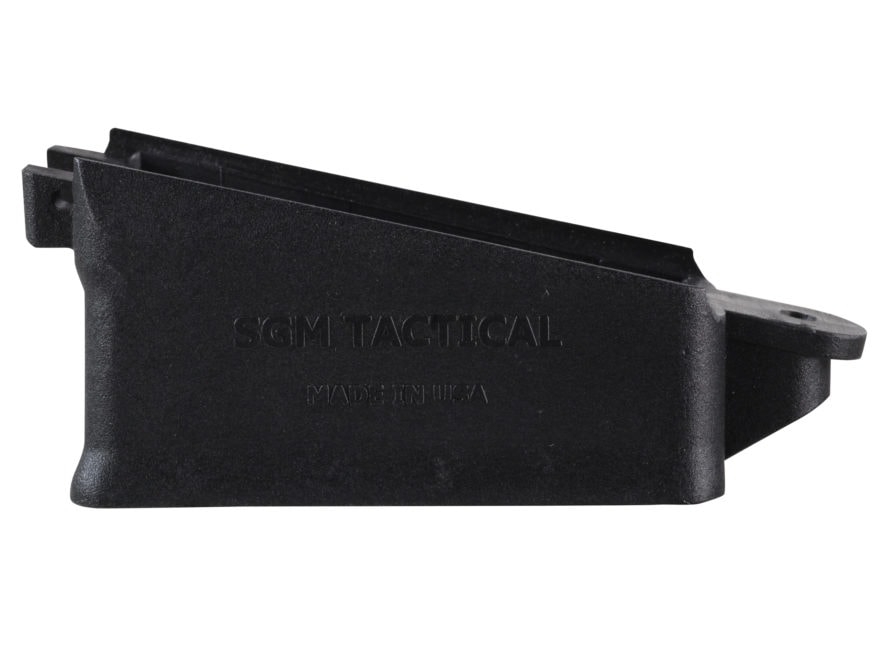 SGM Tactical Magazine Well Saiga 12 Gauge Polymer Black