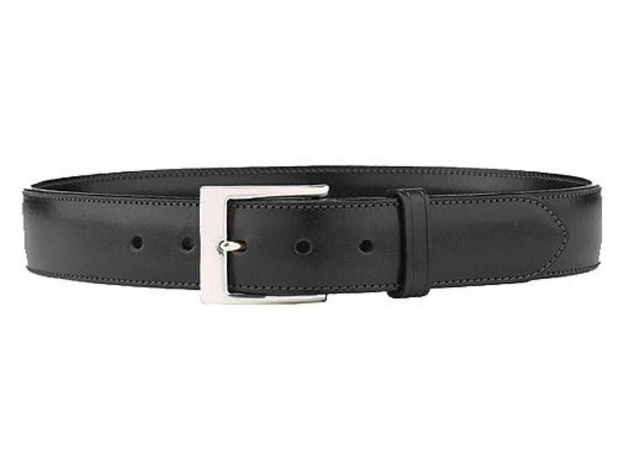 """Galco SB3 Belt 1-1/2"""" Nickel Plated Brass Buckle Leather"""