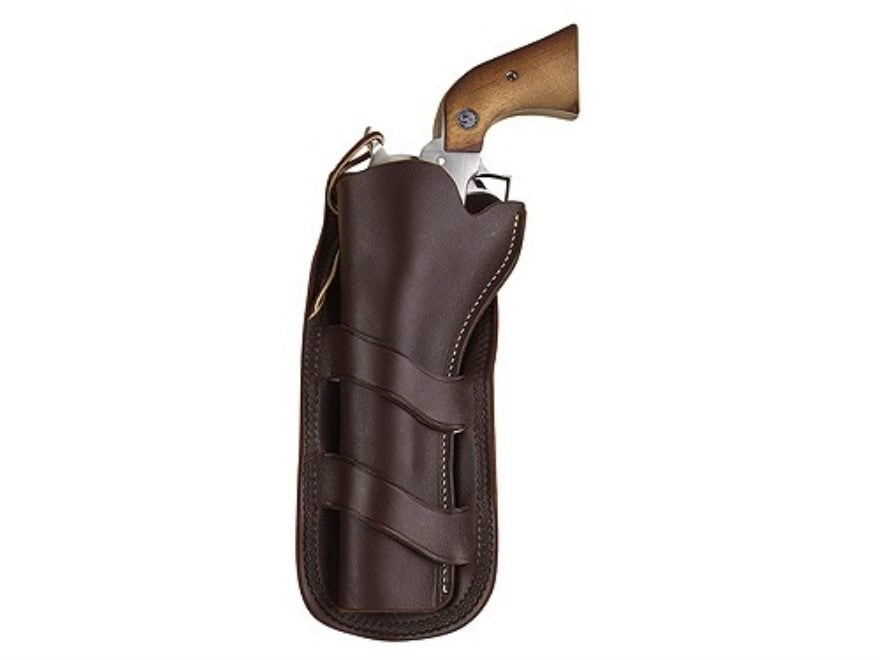 Hunter 1093 Curved Loop Holster Colt Single Action Army, Ruger Blackhawk,  Vaquero 4 75