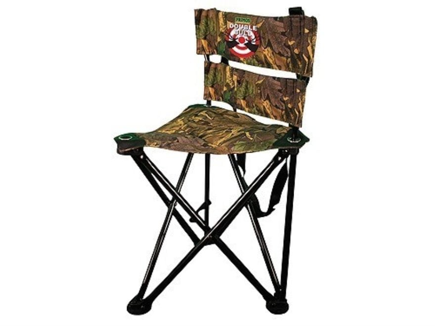 Charmant Primos Double Bull QS3 Magnum Tri Stool Ground Hunting Blind Chair Ground  Swat Camo