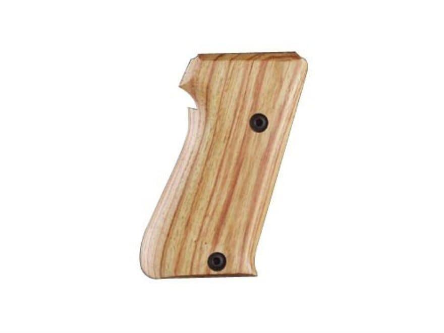 Hogue Fancy Hardwood Grips Sig Sauer P220 Bottom Magazine Release