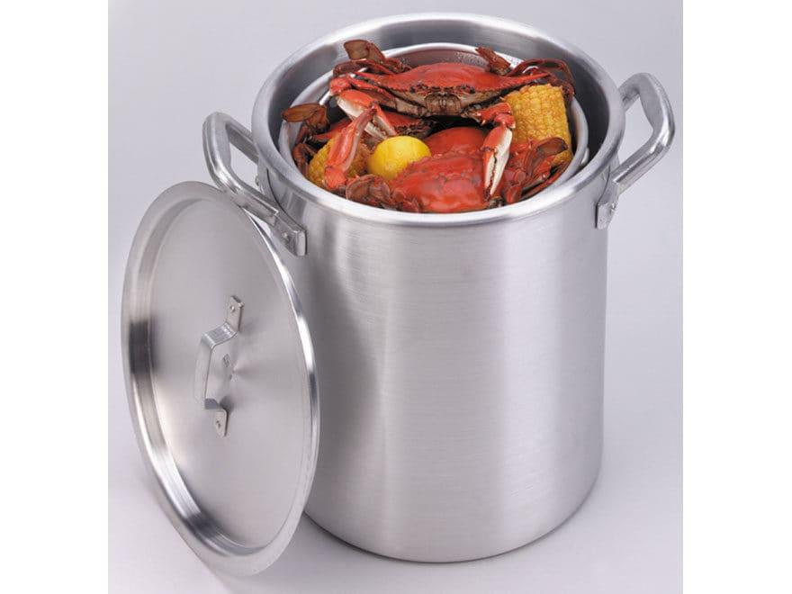 King Kooker 32 Qt Boiling Pot with Lid and Basket