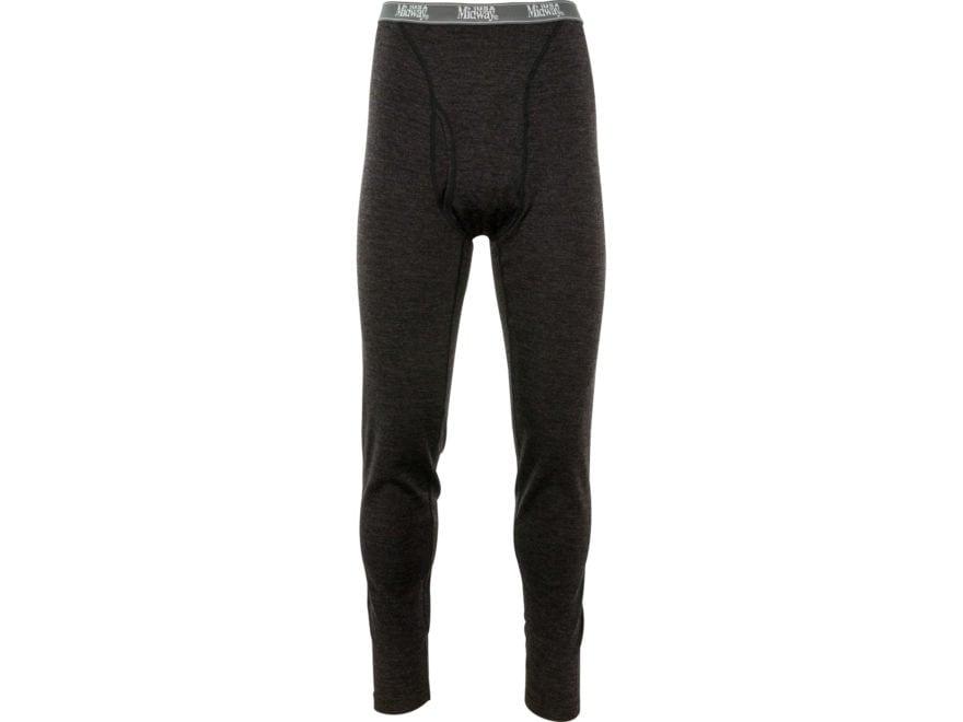 MidwayUSA Men's Lightweight Merino Wool Base Layer Pants