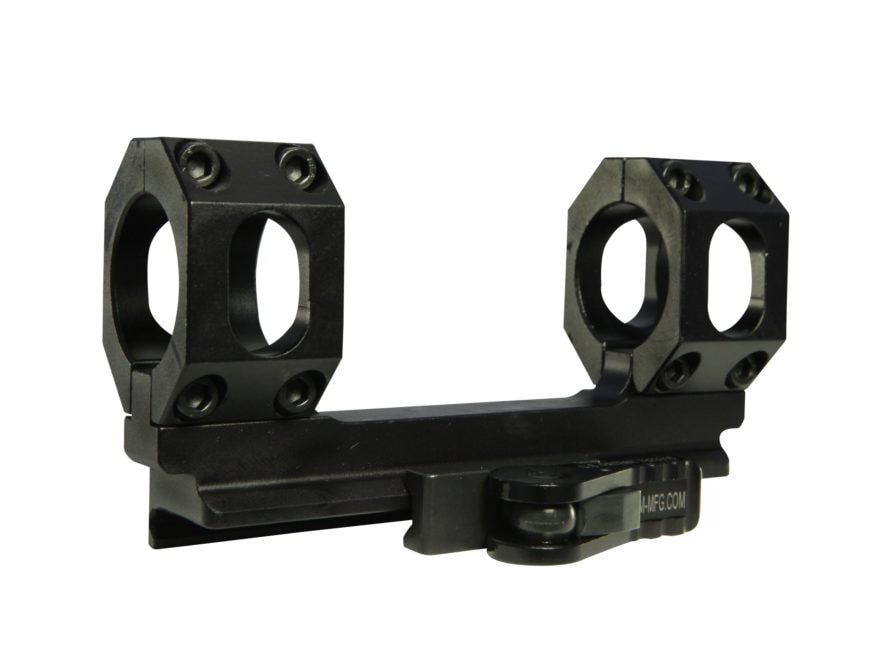 American Defense Scout-S Quick-Release Scope Mount Picatinny-Style with AR-15 Flat-Top ...