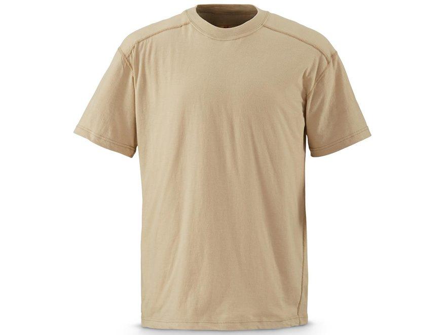 Military Surplus CORDURA Short Sleeve T-Shirt Sand