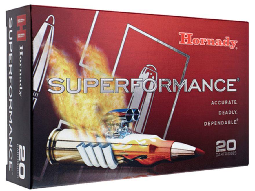 Hornady Superformance Ammunition 270 Winchester 130 Grain InterBond Box of 20