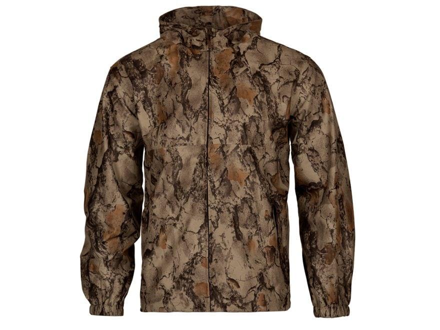 Natural Gear Stealth Hunter Waterproof Rain Jacket Polyester Natural Camo