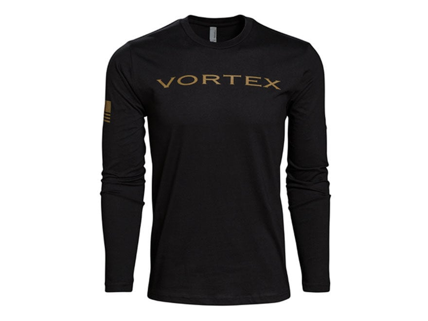 Vortex Optics Men's Vortex T-Shirt Long Sleeve Cotton