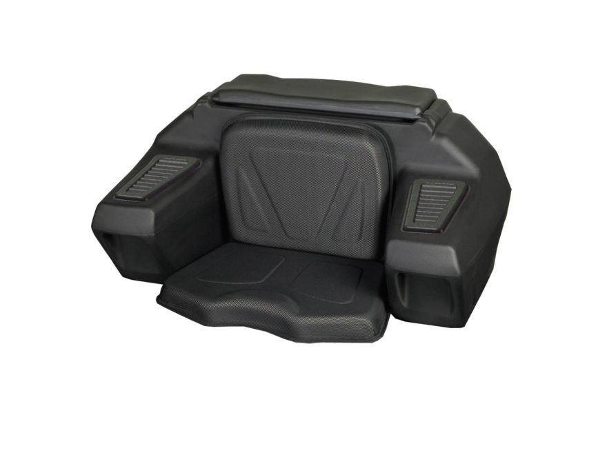Kolpin Powersports ATV Rear Lounger with Helmet Compartment ATV Storage and Seat