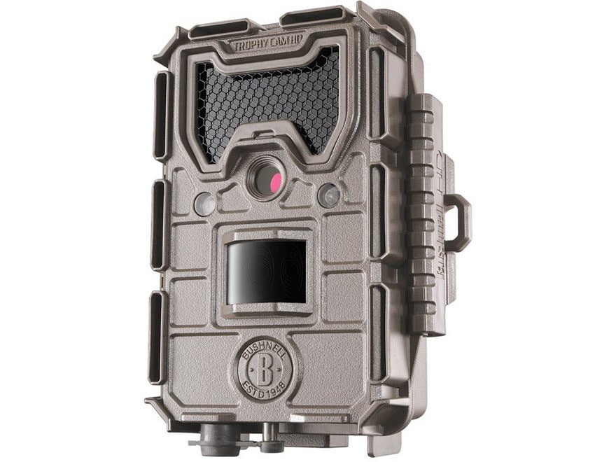 Bushnell Trophy Cam Aggressor HD No Glow Game Camera 20 Megapixel Tan