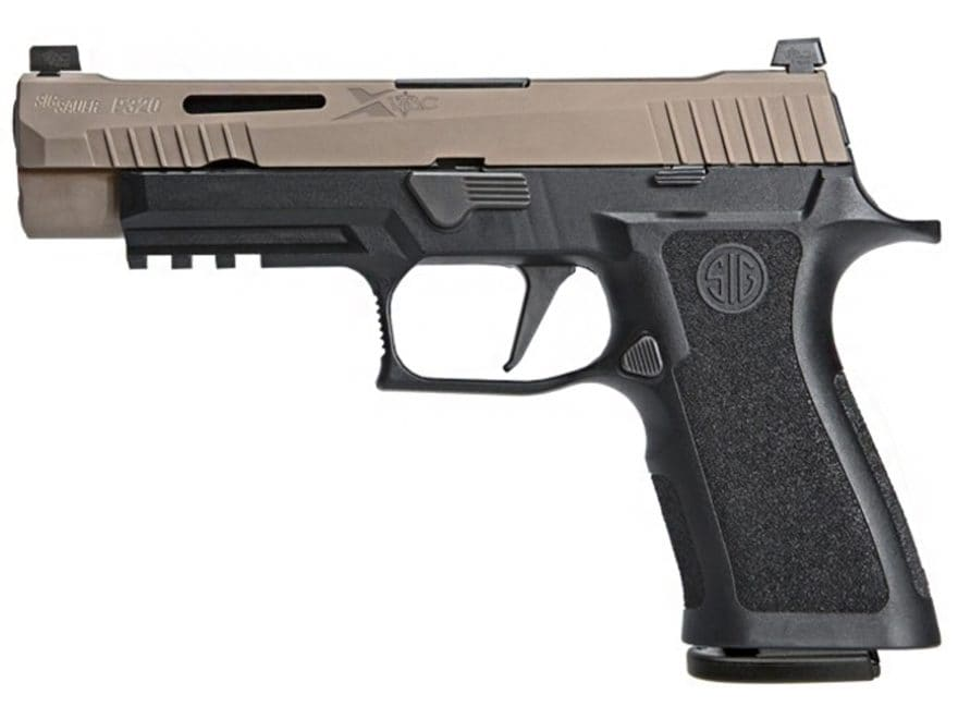 "Sig Sauer P320 X-VTAC Pistol 9mm Luger 4.7"" Barrel VTAC Night Sights 17-Round Flat Dark..."
