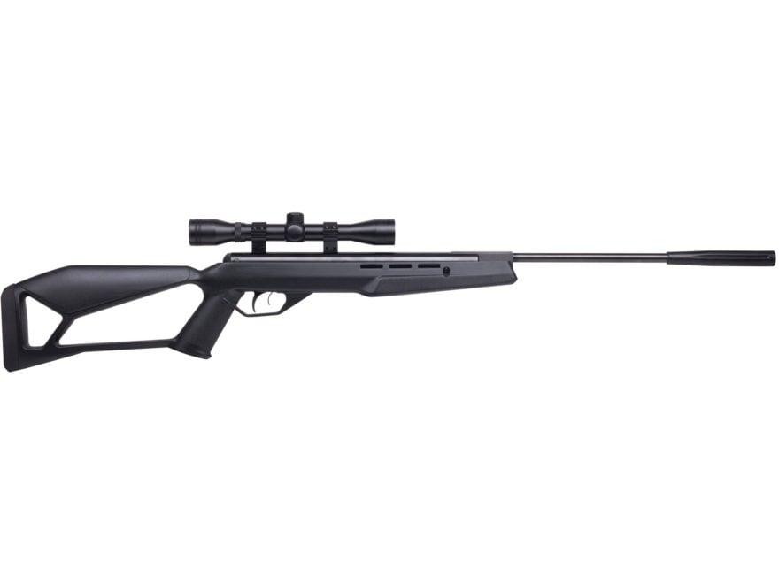Crosman Fire Nitro Piston Break Barrel Air Rifle 177 Caliber Pellet Black Synthetic Sto...