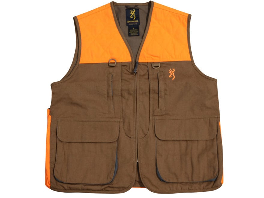 Browning Men's Pheasants Forever Upland Game and Bird Vest Cotton and Polyester Field T...
