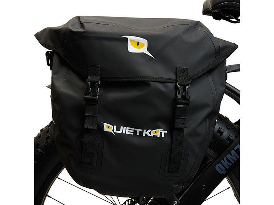 QuietKat Pannier Bags Polyester Black