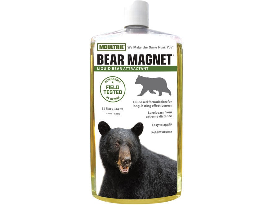 Moultrie Bear Magnet Bear Attractant Liquid 32 oz