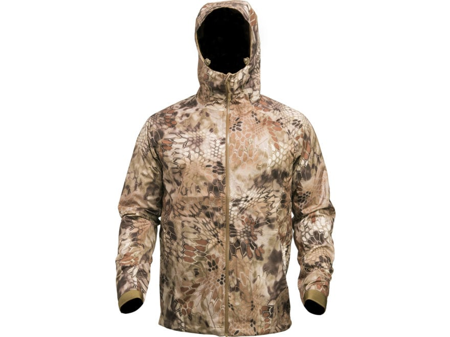 Kryptek Men's Poseidon II Waterproof Rain Jacket Polyester