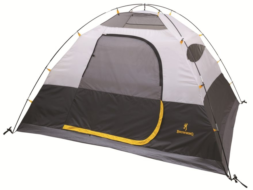 Browning Endeavor 4 Dome Tent Polyester Gray/Gold
