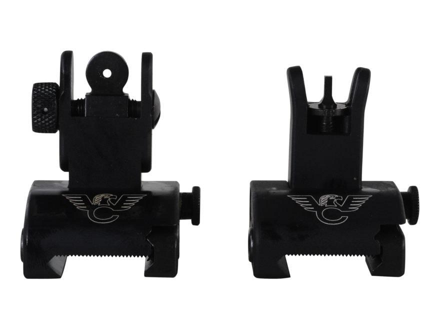 Wilson Combat Quick Detachable Front and Rear Sight Set AR-15 Matte