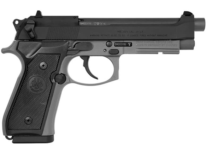 "Beretta 92FS Pistol 22 Long Rifle 5.3"" Barrel Gray"