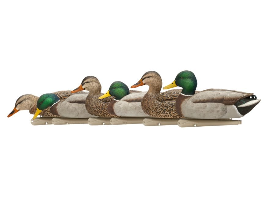 Avian-X Top Flight Fusion Mallard Duck Decoy Pack of 6